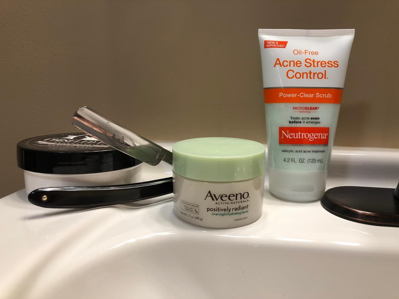 Adding salicylic acid and night cream to your shaving regimen