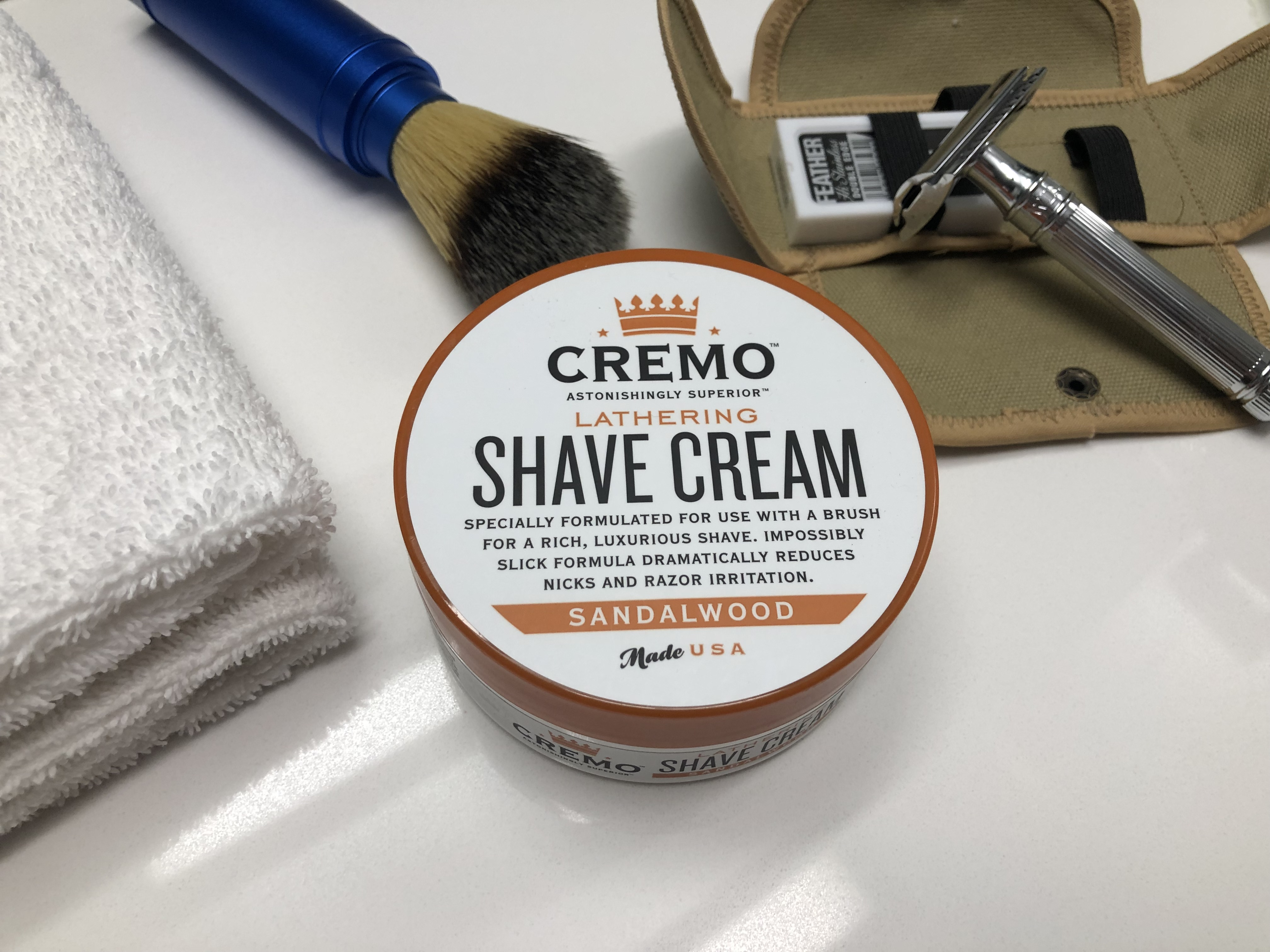 Review of Cremo Lathering Shave Cream – Save Your Shave
